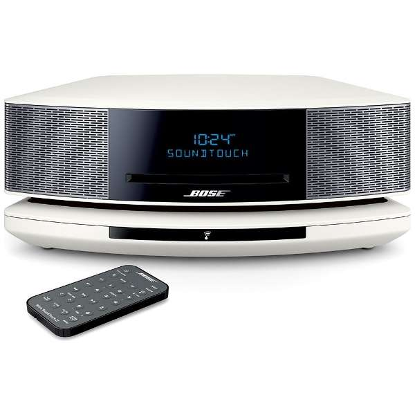 WST IV AW ブルートゥース スピーカー Wave SoundTouch music system IV アークティックホワイト [Bluetooth対応 /Wi-Fi対応]