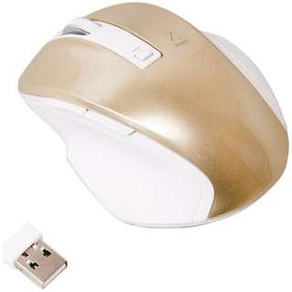 MUS-RKF119GL マウス Digio2 Zシリーズ ゴールド [BlueLED /5ボタン /USB /無線(ワイヤレス)]