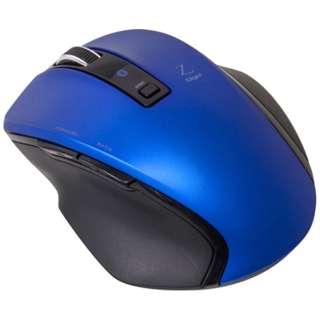 MUS-BKF121BL マウス Digio2 Zシリーズ ブルー [BlueLED /5ボタン /Bluetooth /無線(ワイヤレス)]