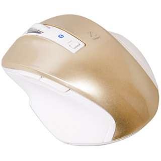 MUS-BKF121GL マウス Digio2 Zシリーズ ゴールド [BlueLED /5ボタン /Bluetooth /無線(ワイヤレス)]