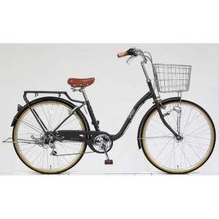 26型 自転車 スプラウト266(マットチャコールグレー/6段変速) FD66LG 【組立商品につき返品不可】