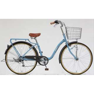 26型 自転車 スプラウト266(マットブルーグレー/6段変速) FD66LG 【組立商品につき返品不可】