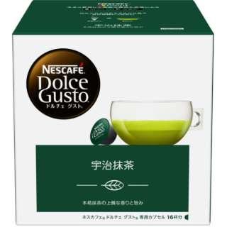 ドルチェグスト専用カプセル 「宇治抹茶」 (16杯分) UJM16001