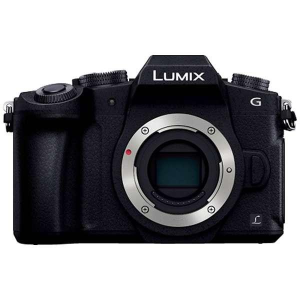 LUMIX G8【ボディ(レンズ別売)】DMC-G8-K(ミラーレス一眼カメラ)