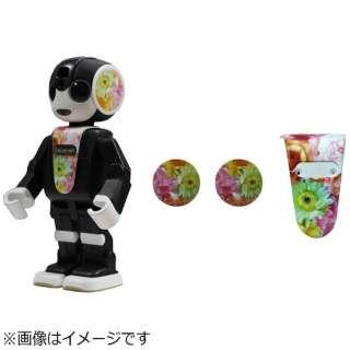 RoBoHoN用 ロボホンウェア 耳&前掛けセット(花柄) [SRCD02]
