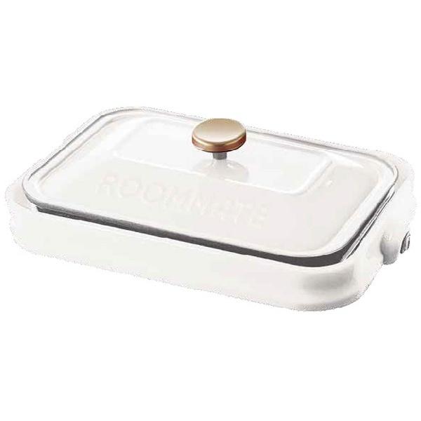 ROOMMATE ホットプレート EB-RM8600H-WH 調理器具