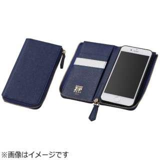 918c429d84 ビックカメラ.com | DEFF ディーフ iPhone 7 Plus用 手帳型 ROUND ZIP ...