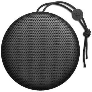Beoplay A1 ブルートゥース スピーカー ブラック [Bluetooth対応 /防水]