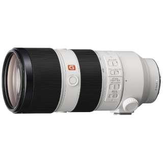 カメラレンズ FE 70-200mm F2.8 GM OSS G Master ホワイト SEL70200GM [ソニーE /ズームレンズ]