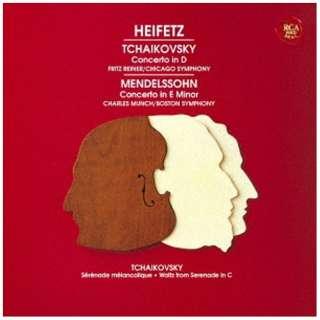 ヤッシャ・ハイフェッツ(vn)/メンデルスゾーン&チャイコフスキー:ヴァイオリン協奏曲 ほか 【CD】