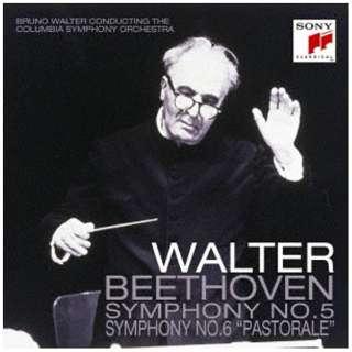 ブルーノ・ワルター(cond)/ベートーヴェン:交響曲第5番「運命」&第6番「田園」 【CD】