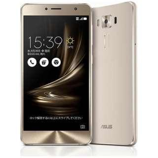 ZenFone3 Deluxe Series「ZS550KL-SL64S4」シルバー Snapdragon 625 5.5型・メモリ/ストレージ:4GB/64GB microSIM×1、nano×1 ドコモ/au/Ymobile SIM対応 SIMフリースマートフォン