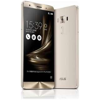 ZenFone3 Deluxe Series シルバー「ZS570KL-SL256S6」 Snapdragon 821 5.7型・メモリ/ストレージ:6GB/256GB microSIM×1、nano×1 ドコモ/Ymobile SIM対応 DSDS対応 SIMフリースマートフォン