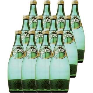 ペリエ 750ml瓶(12本)【天然炭酸水】