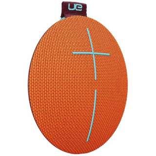 WS610OR ブルートゥース スピーカー Ultimate Ears ROLL 2 オレンジ [Bluetooth対応]