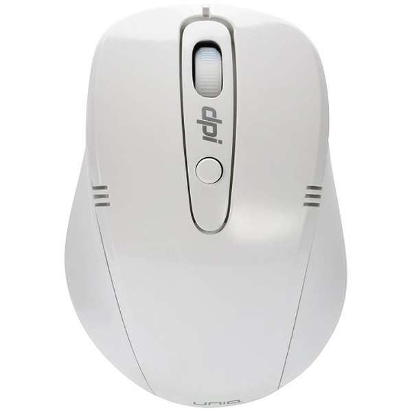 IM318GWH マウス ホワイト [光学式 /4ボタン /USB /無線(ワイヤレス)]