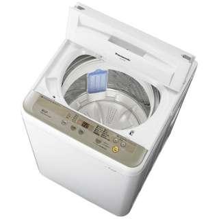 NA-F60B10-N 全自動洗濯機 シャンパン [洗濯6.0kg /乾燥機能無 /上開き]