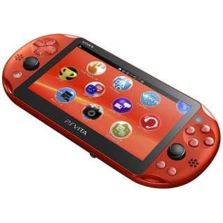 PlayStation Vita (プレイステーション・ヴィータ) Wi-Fiモデル PCH-2000 メタリック・レッド [ゲーム機本体]