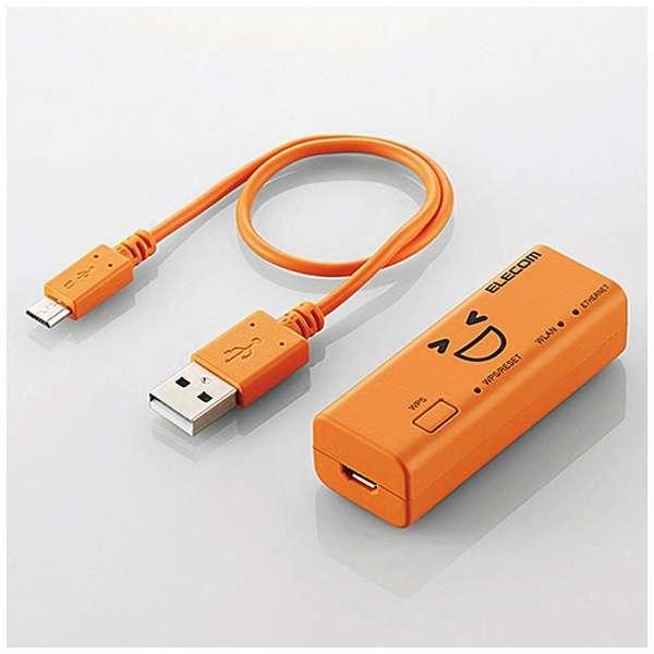 WRH-300DR3-S wifiルーター WRH-300XX3-Sシリーズ オレンジ [n/g/b]