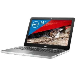 NI45-6WHBW ノートパソコン Inspiron 15 5000 5565 ホワイト [15.6型 /AMD Aシリーズ /HDD:1TB /メモリ:8GB /2016年秋冬モデル]