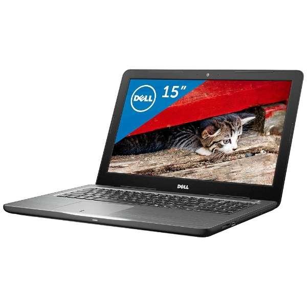 NI45-6WHBB ノートパソコン Inspiron 15 5000 5565 ブラック [15.6型 /AMD Aシリーズ /HDD:1TB /メモリ:8GB /2016年秋冬モデル]