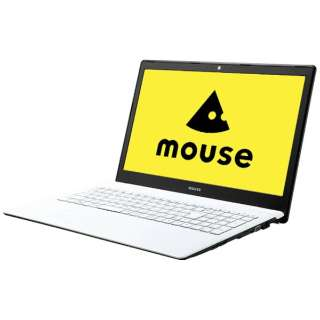 MB-N25W1H16J ノートパソコン mouse 白 [15.6型 /intel Celeron /SSD:120GB /メモリ:4GB /2016年10月モデル]