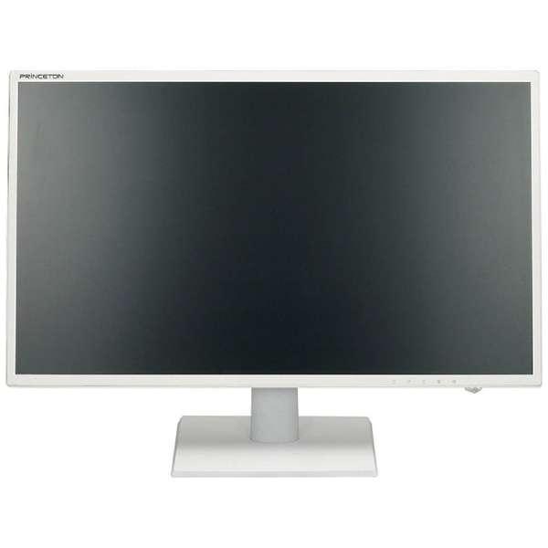 白色LEDバックライト ワイドカラー液晶ディスプレイ ホワイト PTFWLT-22W [21.5型 /ワイド /フルHD(1920×1080)]