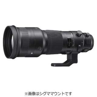 カメラレンズ 500mm F4 DG OS HSM Sports ブラック [ニコンF /単焦点レンズ]