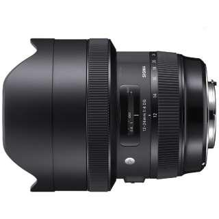 カメラレンズ 12-24mm F4 DG HSM Art ブラック [シグマ /ズームレンズ]