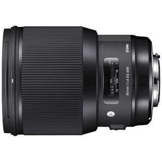 カメラレンズ 85mm F1.4 DG HSM Art ブラック [シグマ /単焦点レンズ]