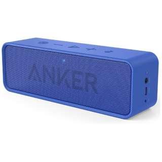 A3102031 ブルートゥース スピーカー SoundCore ブルー [Bluetooth対応]