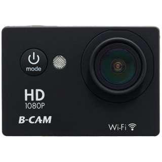 BDV-H05 アクションカメラ B-CAM ブラック [フルハイビジョン対応 /防水]