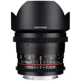 カメラレンズ 10mm T3.1 VDSLR ED AS NCS CSII ブラック [FUJIFILM X /単焦点レンズ]