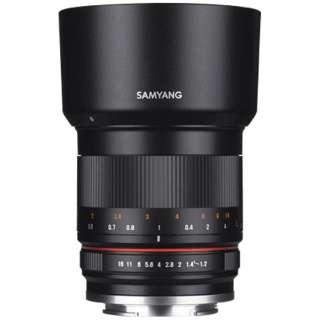 カメラレンズ 50mm F1.2 AS UMC CS APS-C用 ブラック [ソニーE /単焦点レンズ]