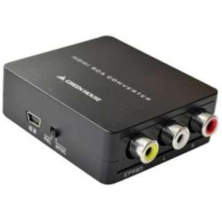 GH-HCV-RCA HDMIコンポジットコンバーター