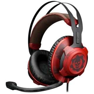 HX-HSCRXGW-RD ゲーミングヘッドセット CloudX [φ3.5mmミニプラグ /両耳 /ヘッドバンドタイプ]