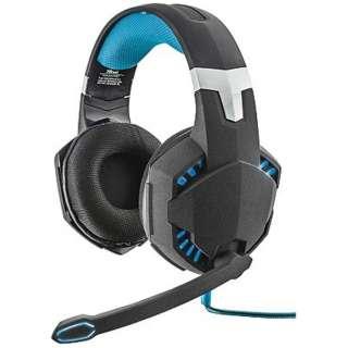 有線ゲーミングヘッドセット [USB] GXT 363 7.1 Bass Vibration Headset 20407