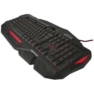 有線ゲーミングキーボード[USB 1.85m・Win] GXT 285 Advanced Gaming Keyboard (英語116キー・メンブレン) 20433