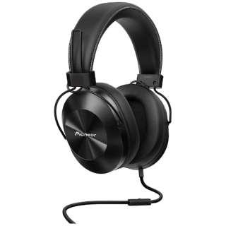 ヘッドホン BLACK SE-MS5T [リモコン・マイク対応 /φ3.5mm ミニプラグ /ハイレゾ対応]