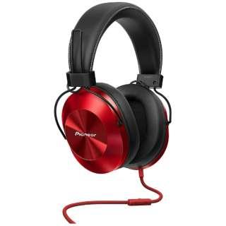 ヘッドホン RED SE-MS5T [リモコン・マイク対応 /φ3.5mm ミニプラグ /ハイレゾ対応]