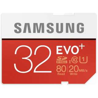 SDHCカード EVO +シリーズ MB-SC32D/IT [32GB /Class10]
