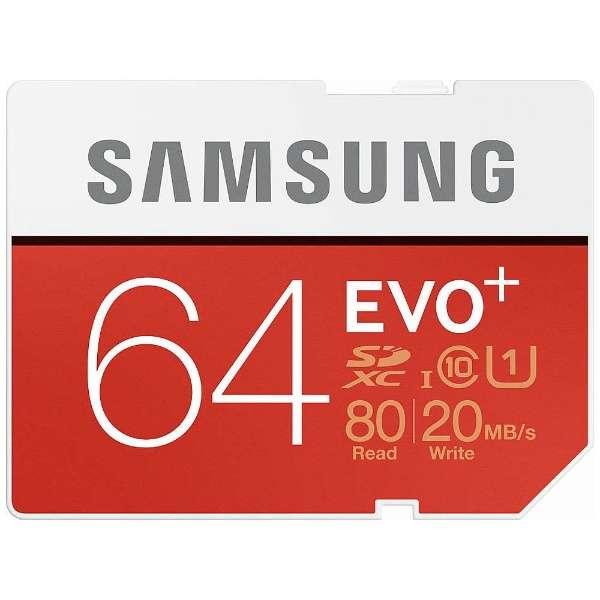 SDXCカード EVO +シリーズ MB-SC64D/IT [64GB /Class10]