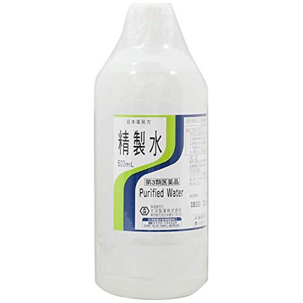大洋製薬 精製水 500mL