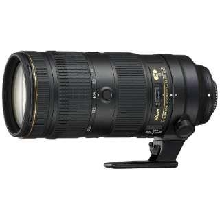 カメラレンズ AF-S NIKKOR 70-200mm f/2.8E FL ED VR NIKKOR(ニッコール) ブラック [ニコンF /ズームレンズ]