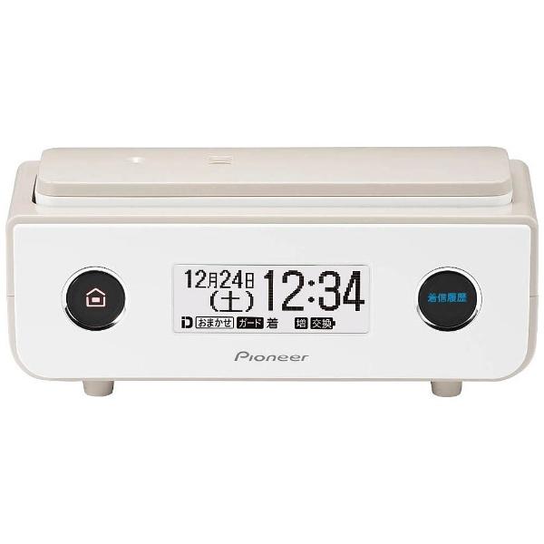 パイオニア (送料無料) デジタルコードレス留守番電話機 (ダークブラウン) 「子機2台」 TF‐SD15W‐TD