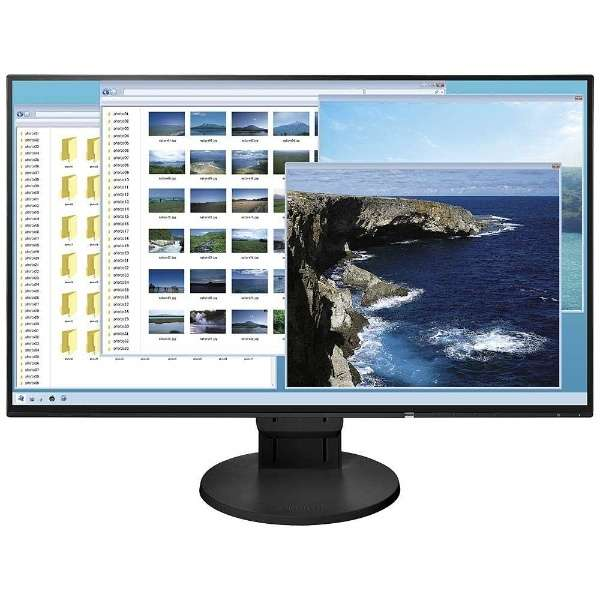 23.8型LEDバックライト搭載液晶モニター (ブラック) FlexScan EV2451-RBK