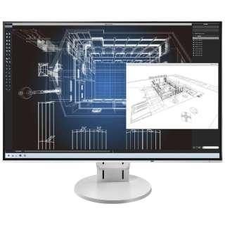 LEDバックライト搭載液晶モニター FlexScan ホワイト EV2456-RWT [ワイド /WUXGA(1920×1200)]