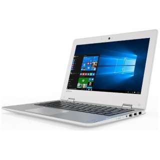 80U40005JP ノートパソコン Ideapad (アイデアパッド )310S チョークホワイト [11.6型 /intel Celeron /SSD:128GB /メモリ:4GB /2016年10月モデル]
