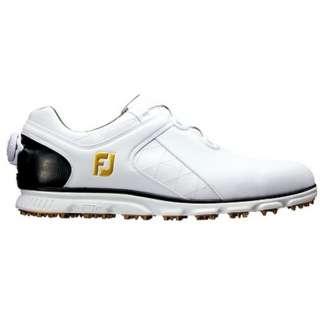 メンズ スパイクレス ゴルフシューズ FJ PRO/SL Boa(26.5cm/ホワイト×ブラック)#56846