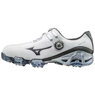 4fa2d4b455a0 Men's Golf Shoes GENEM 007 Boa EEEE(29.0cm/ white X gray) 51GQ170005. MIZUNO